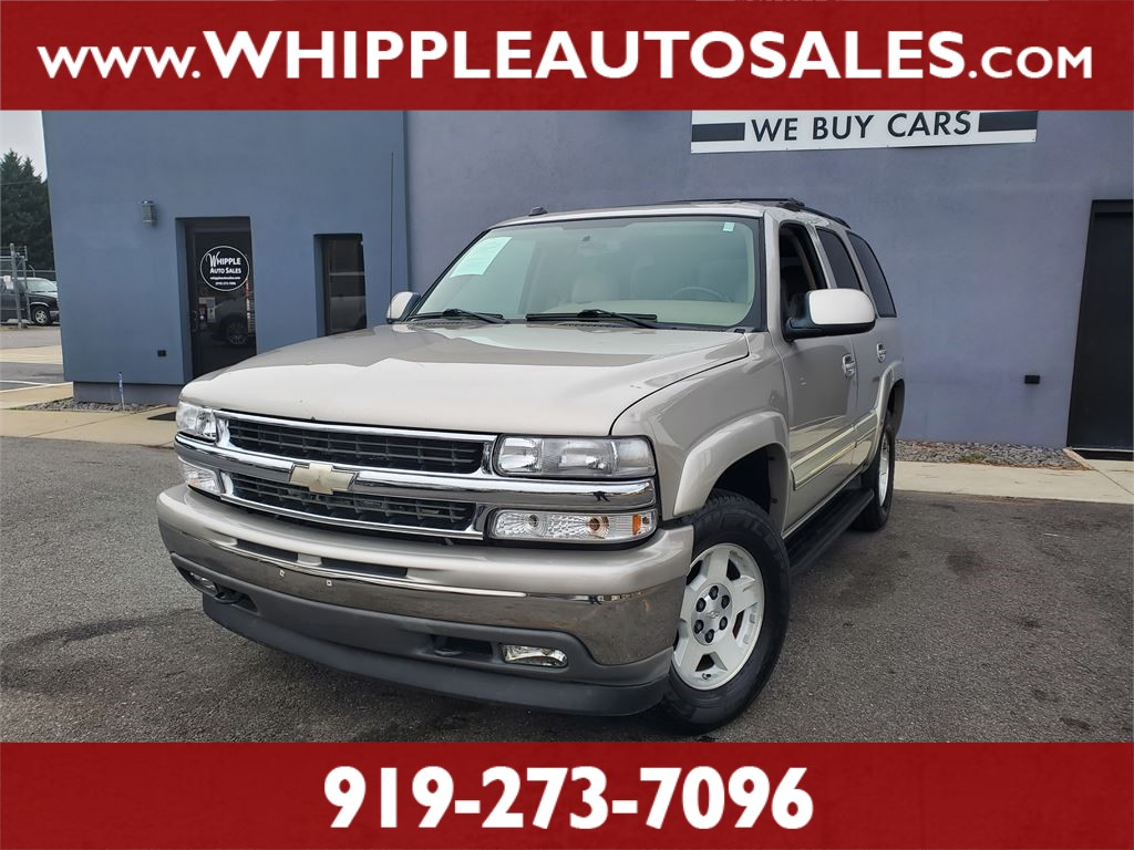 2005 CHEVROLET TAHOE LT (1-OWNER) for sale by dealer