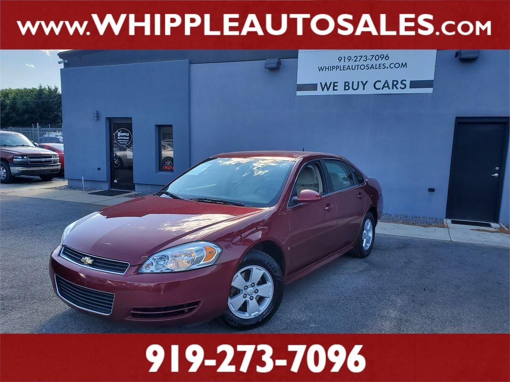 2009 CHEVROLET IMPALA LT for sale by dealer