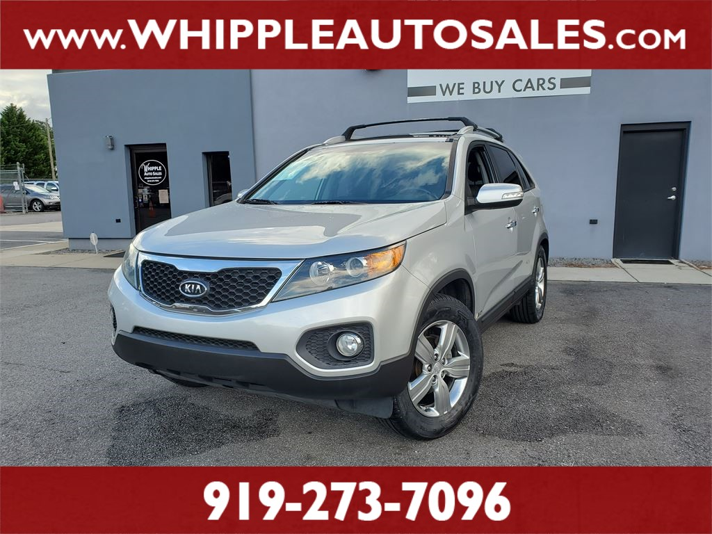 2013 KIA  SORENTO EX (1-OWNER) for sale by dealer