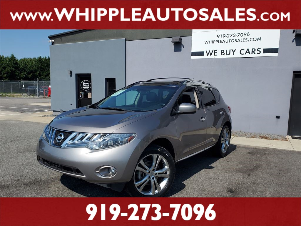 2010 NISSAN MURANO SL (1-OWNER) for sale by dealer