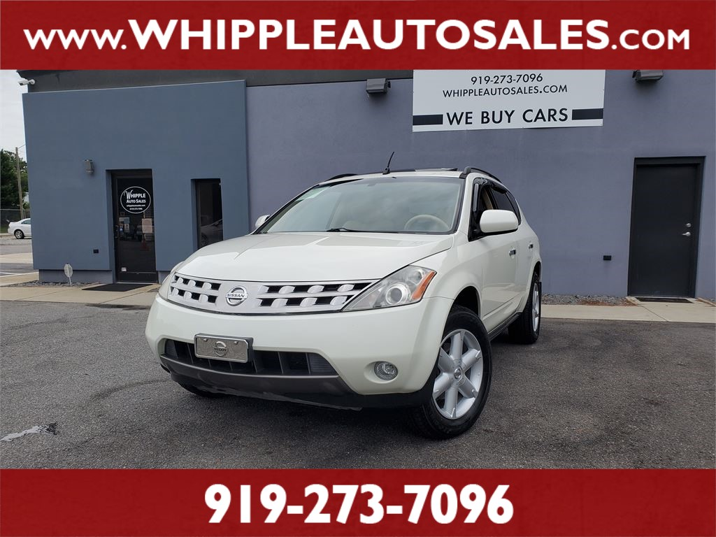 2005 NISSAN MURANO SE for sale by dealer