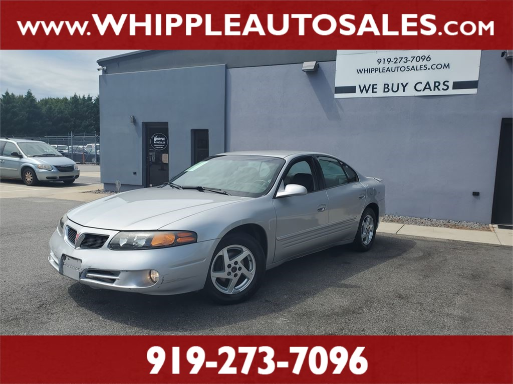 2003 PONTIAC BONNEVILLE SE for sale by dealer