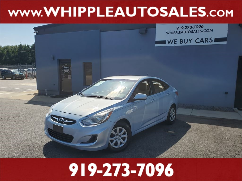 2012 HYUNDAI  ACCENT GLS for sale by dealer