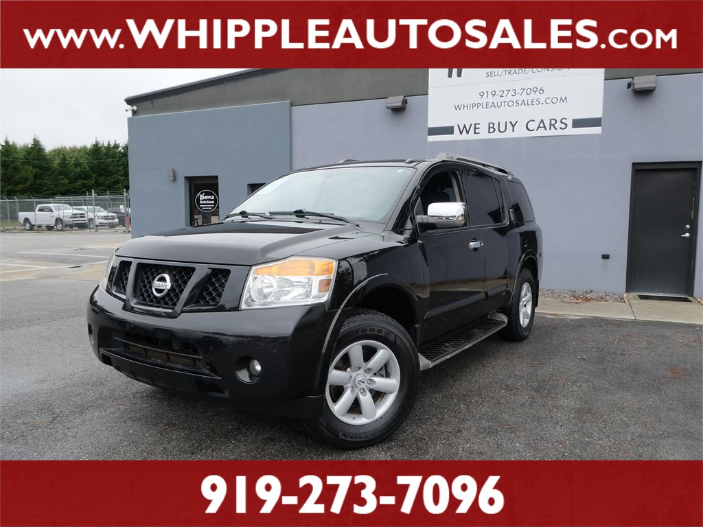 2012 NISSAN  ARMADA SV (1-OWNER) for sale by dealer