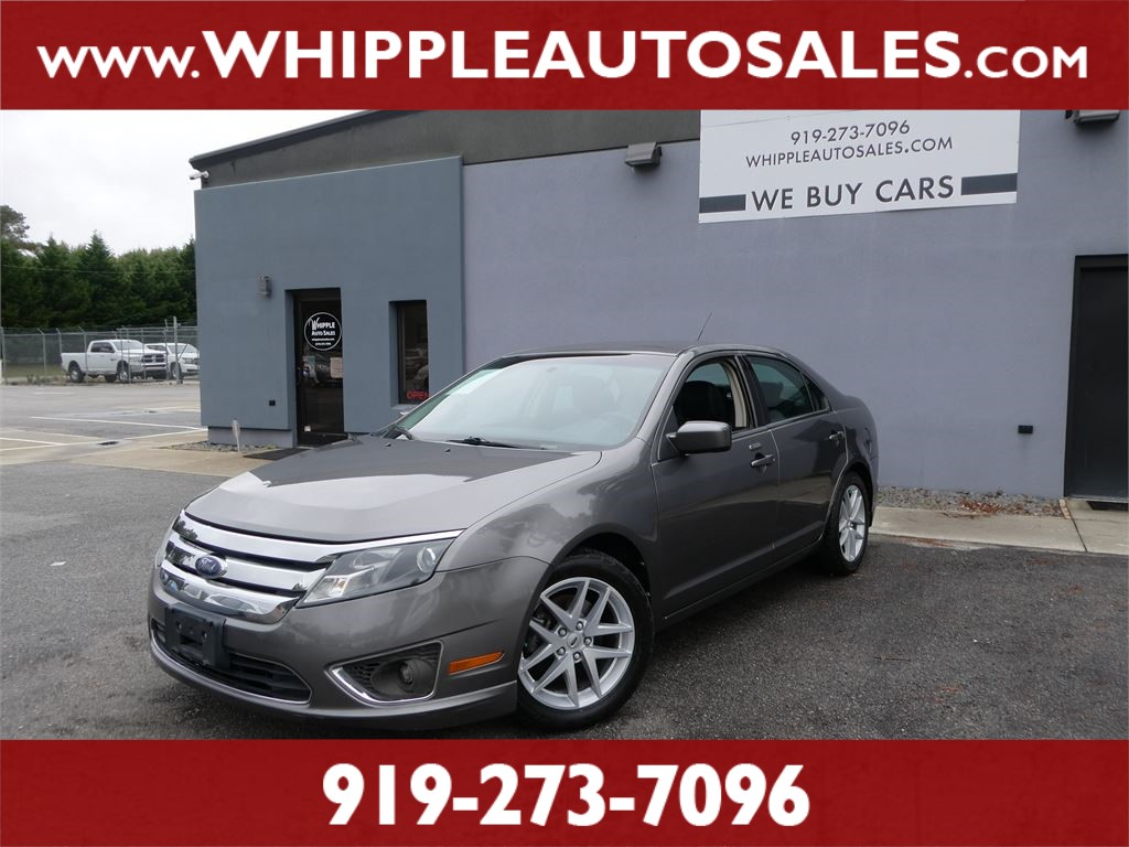2010 FORD  FUSION SEL for sale by dealer