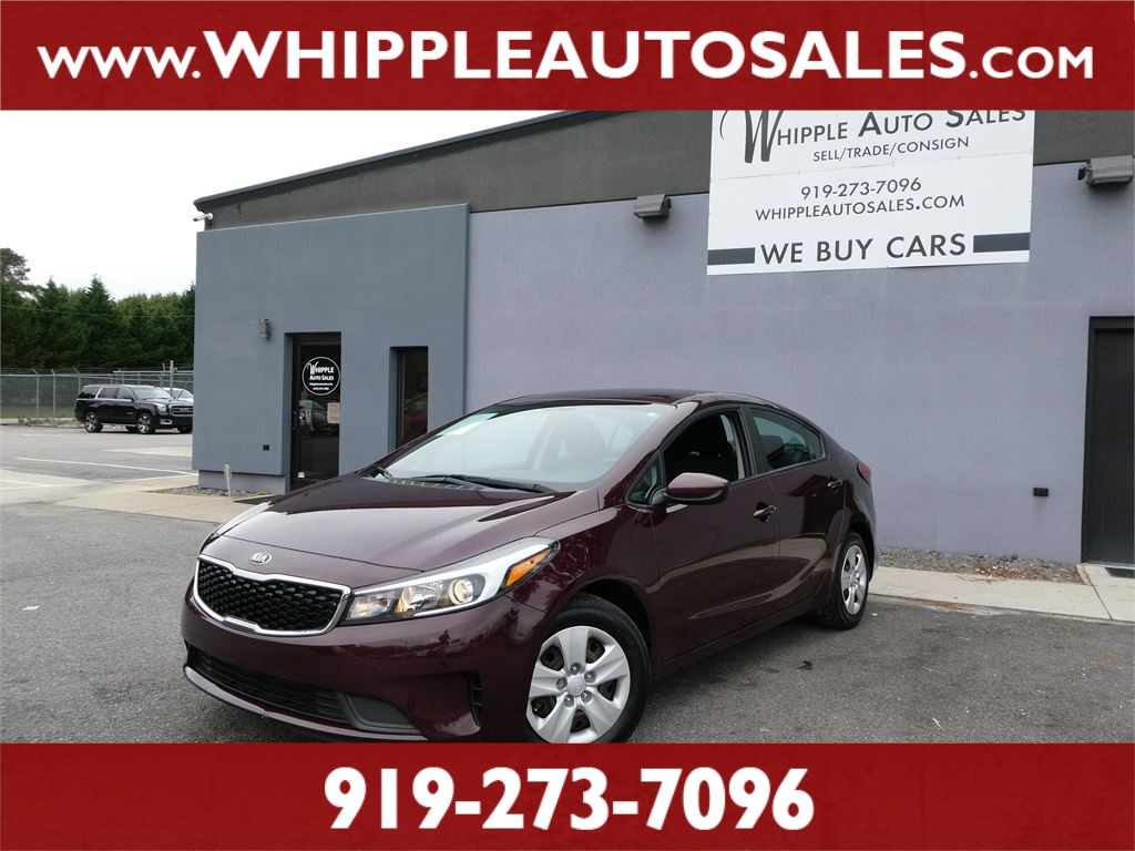 2017 KIA FORTE LX (1-OWNER) for sale by dealer