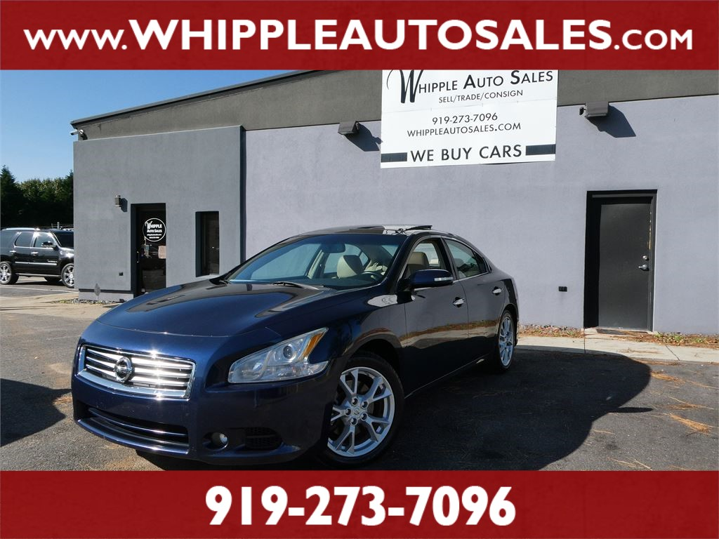 2014 NISSAN MAXIMA SV for sale by dealer