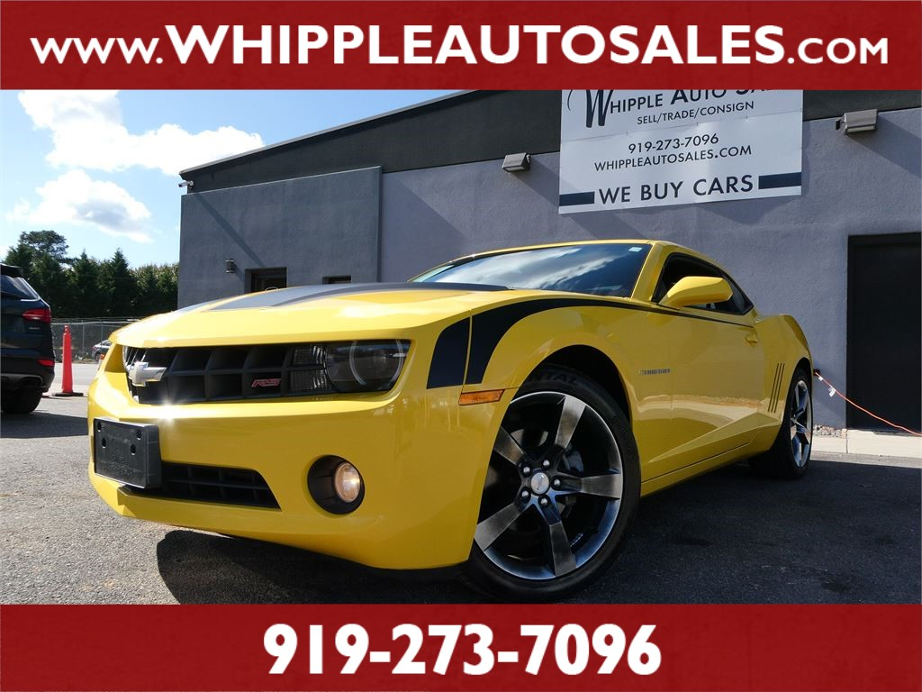2011 CHEVROLET  CAMARO 2LT  for sale by dealer