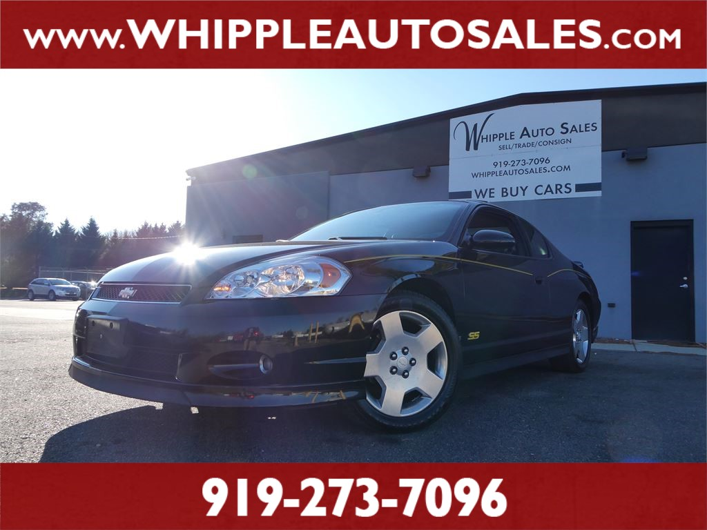 2006 CHEVROLET MONTE CARLO SS for sale by dealer