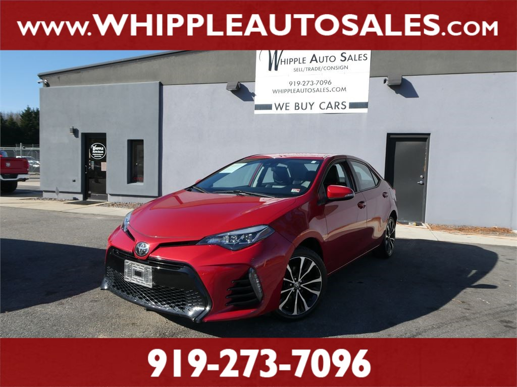 2017 TOYOTA  COROLLA SE for sale by dealer