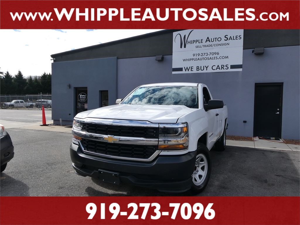 2016 CHEVROLET SILVERADO W/T (1-OWNER) for sale by dealer