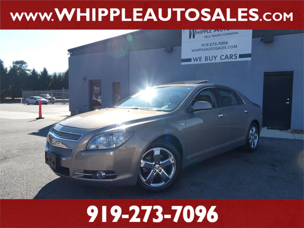 2008 CHEVROLET  MALIBU LTZ for sale by dealer
