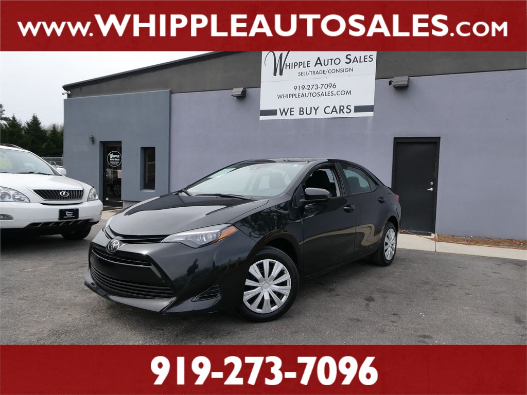 2019 TOYOTA COROLLA LE (1-OWNER) for sale by dealer