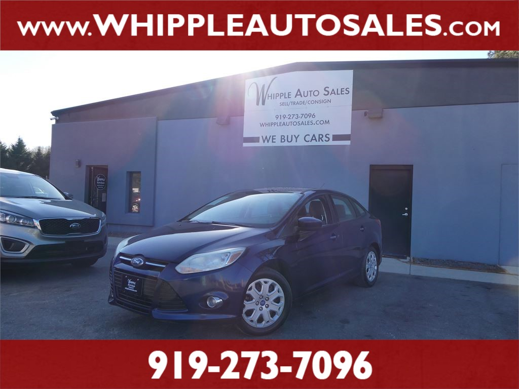 2012 FORD FOCUS SE (1-OWNER) for sale by dealer