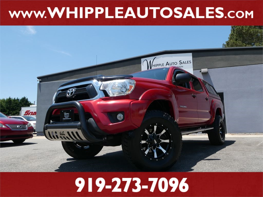 2014 TOYOTA TACOMA DOUBLE CAB for sale by dealer