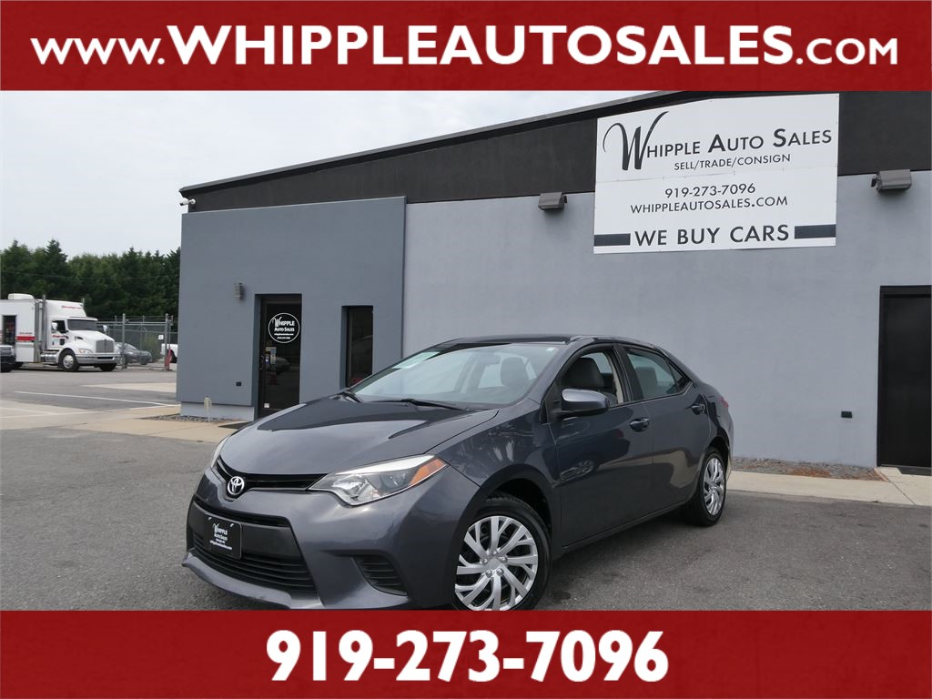 2014 TOYOTA  COROLLA LE  for sale by dealer