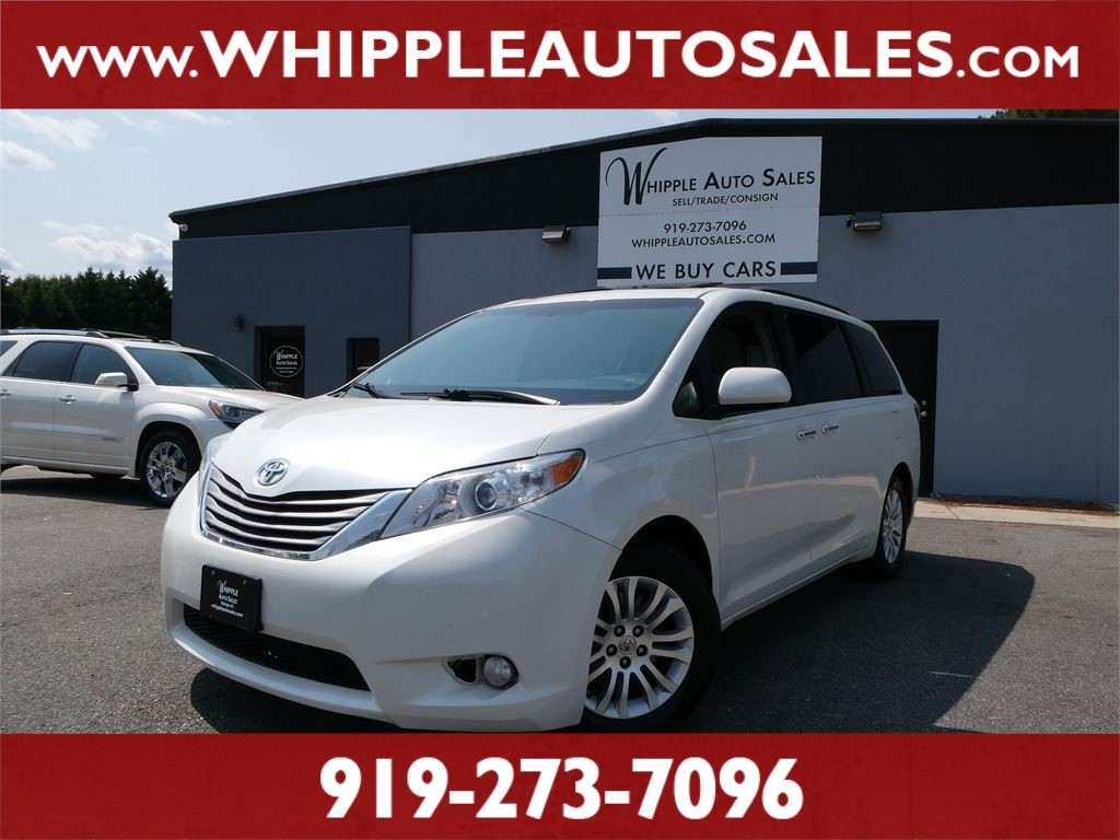2015 TOYOTA SIENNA XLE (1-OWNER) for sale by dealer