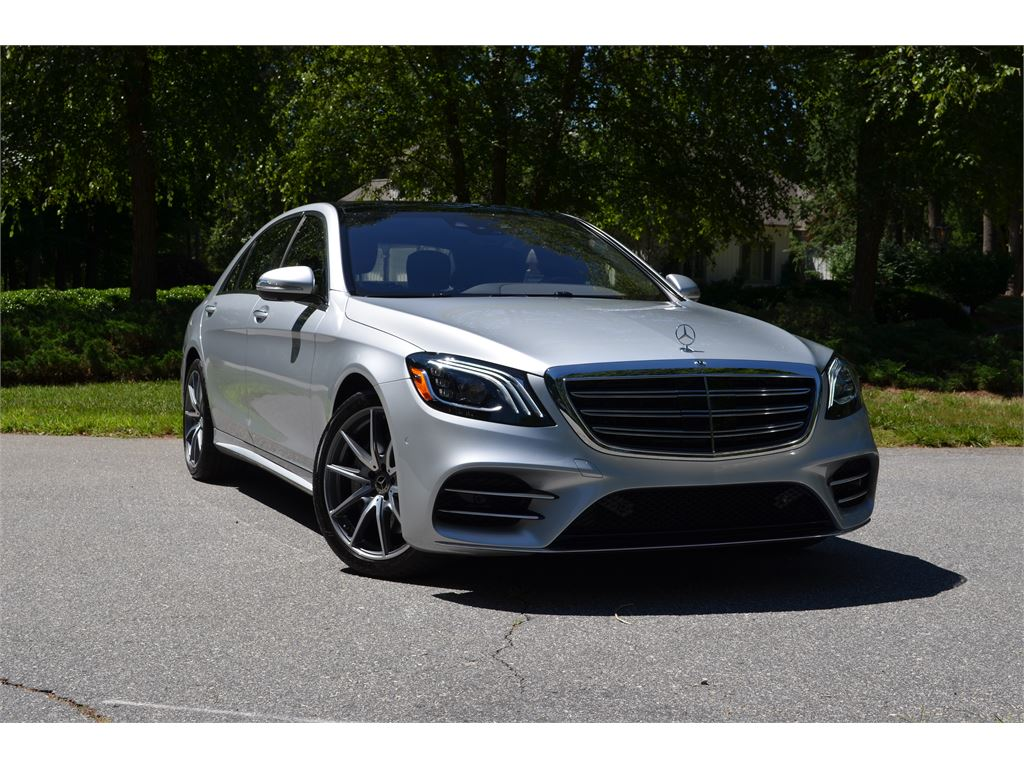 2019 Mercedes-Benz S-Class S560 4MATIC for sale by dealer