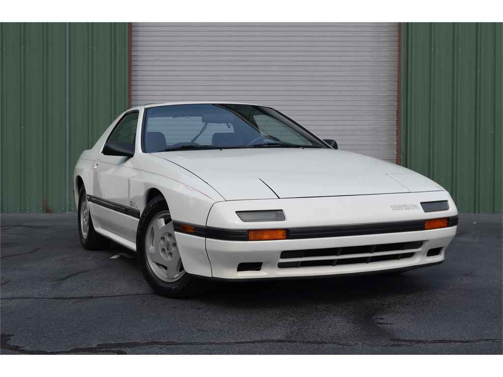 1987 Mazda RX-7 GXL Coupe 5-speed for sale by dealer