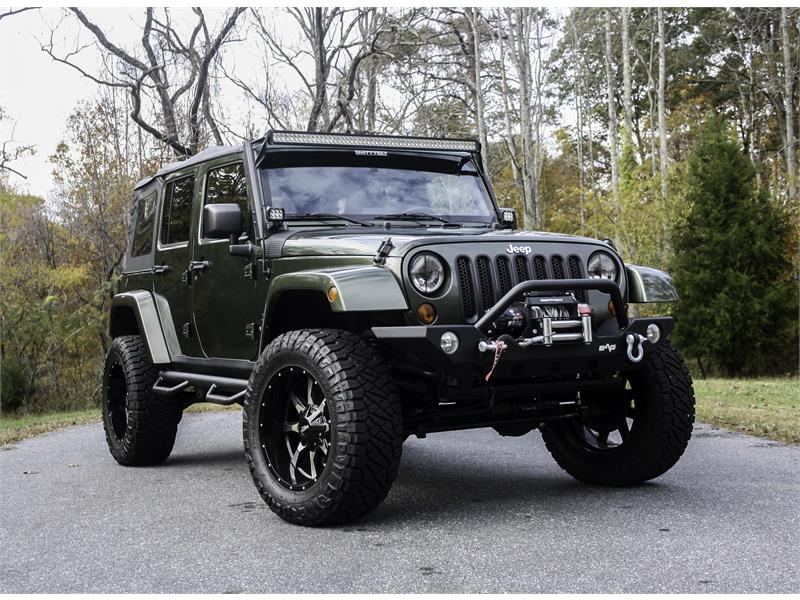 2008 Jeep Wrangler Unlimited Sahara 4WD Stokesdale NC