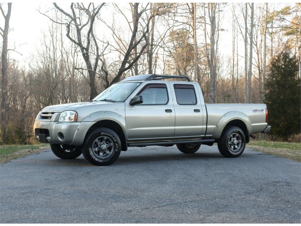 2003 Nissan Frontier XE-V6 Crew Cab Long Bed 4WD Stokesdale NC