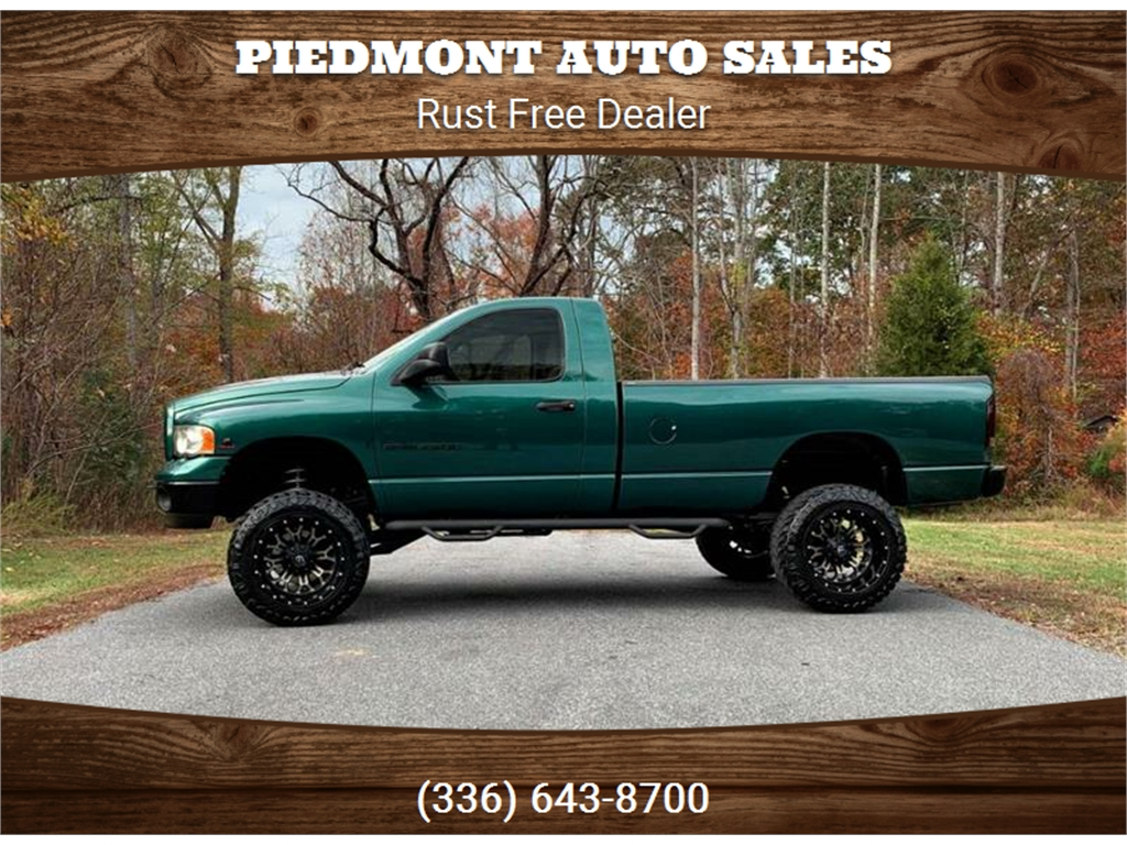 2003 Dodge Ram 2500 SLT 4WD for sale by dealer