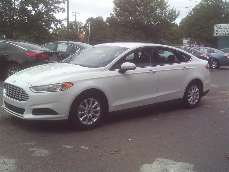 2016 Ford Fusion S for sale by dealer