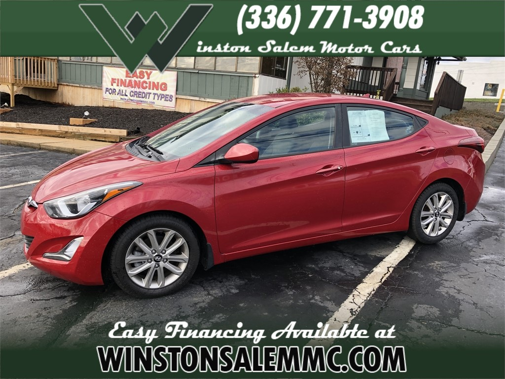 2016 Hyundai Elantra Limited for sale by dealer