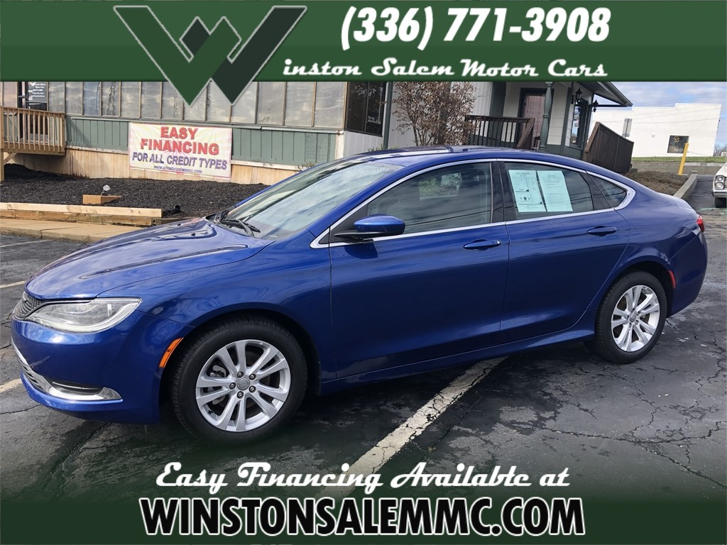2015 Chrysler 200 Limited for sale by dealer