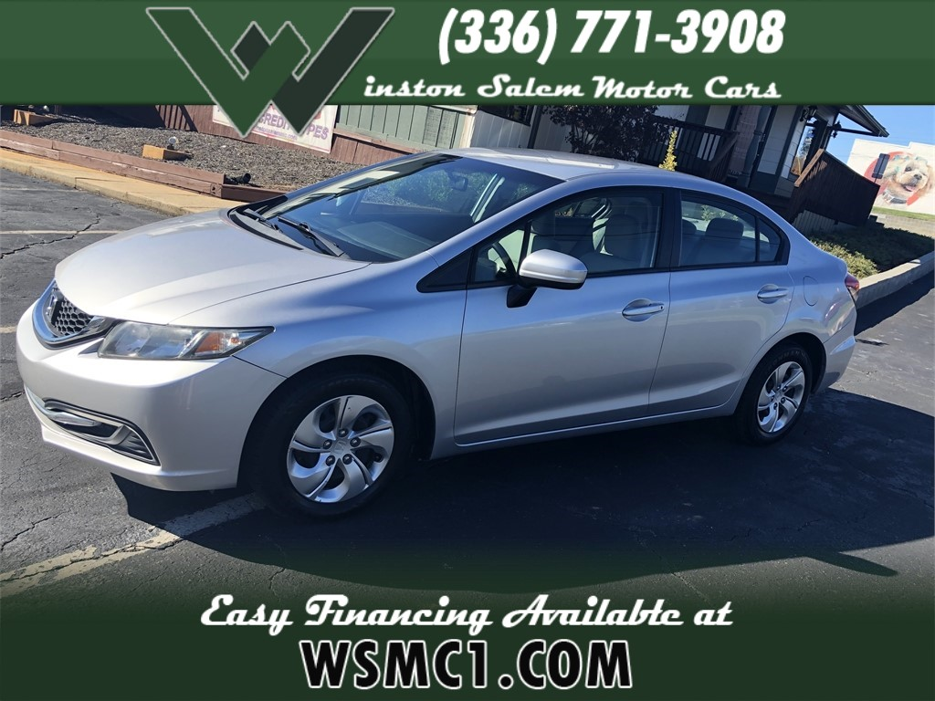 2015 Honda Civic LX Sedan for sale by dealer