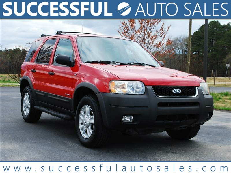 2002 FORD ESCAPE XLT for sale by dealer