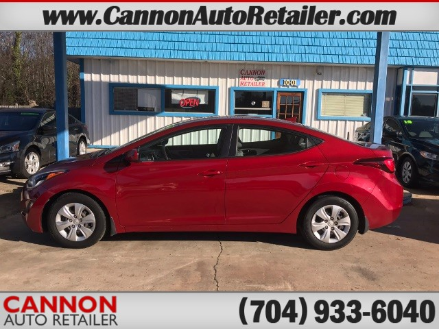 2016 Hyundai Elantra SE 6AT for sale by dealer