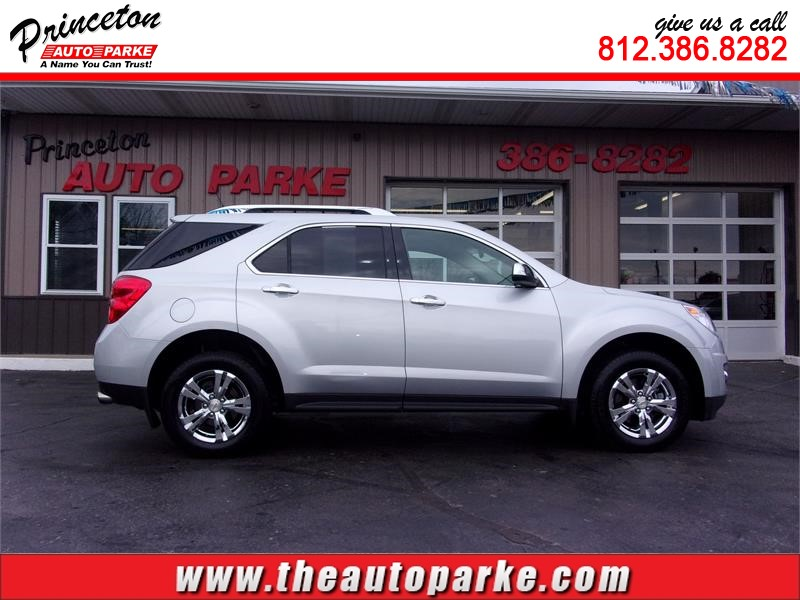 2012 CHEVROLET EQUINOX LTZ for sale by dealer