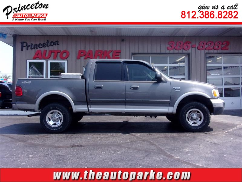 2003 FORD F150 SUPERCREW Princeton IN