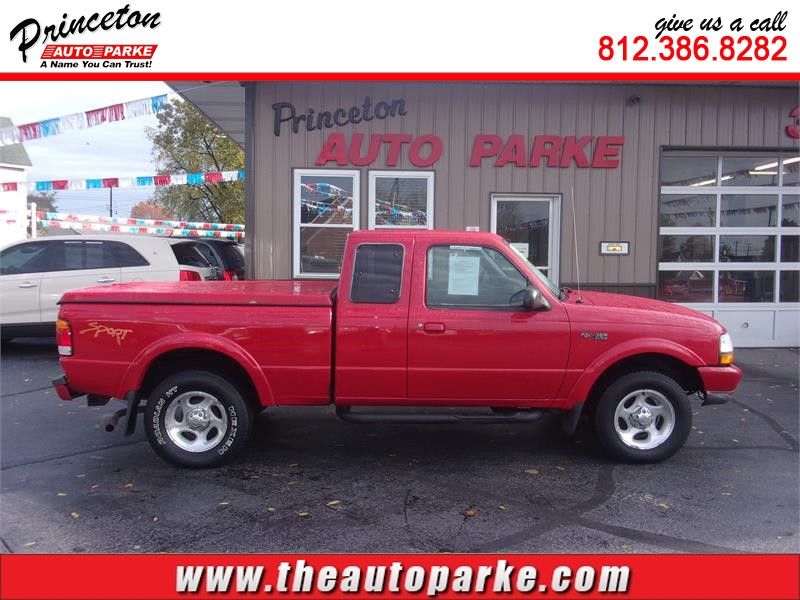 1999 FORD RANGER SUPER CAB for sale by dealer