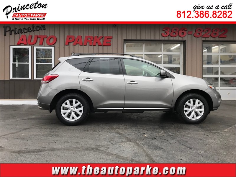 2012 NISSAN MURANO SL for sale by dealer