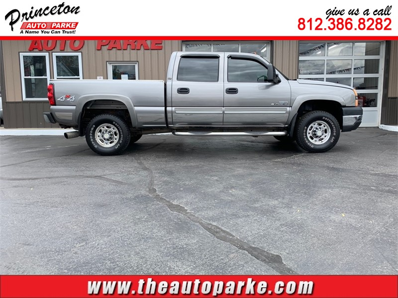 2007 CHEVROLET SILVERADO 2500 HEAVY DUTY for sale by dealer