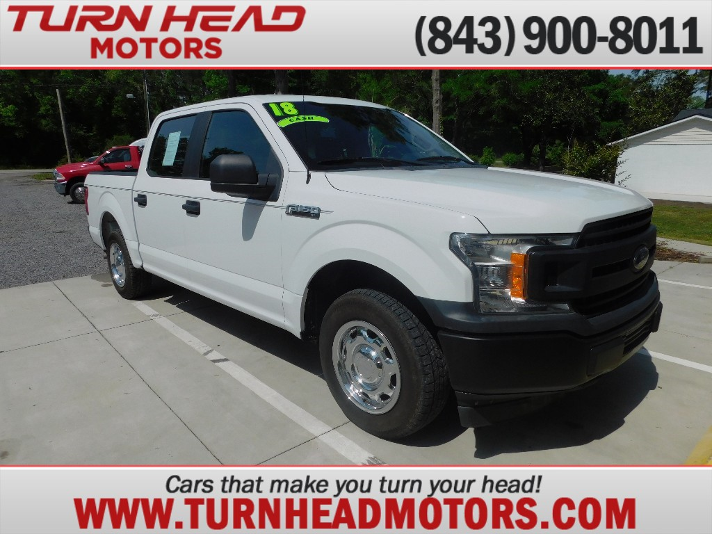 2018 FORD F150 SUPERCREW for sale by dealer