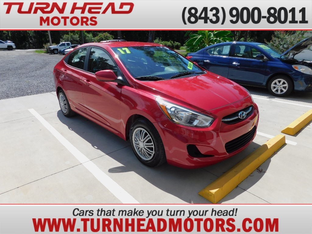 2017 HYUNDAI ACCENT SE for sale by dealer