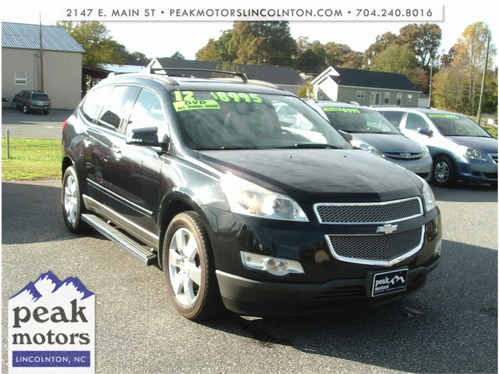 2012 Chevrolet Traverse LTZ AWD for sale by dealer