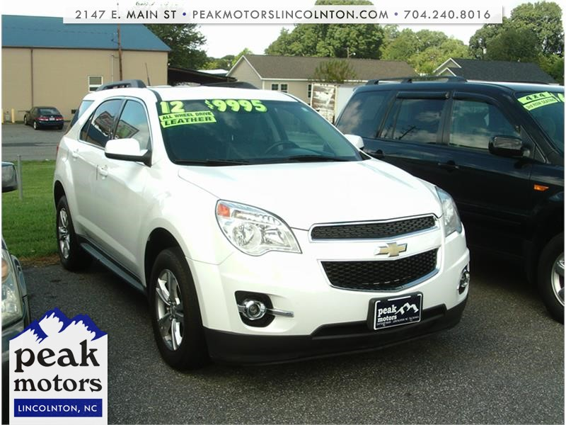 2012 Chevrolet Equinox 2LT AWD for sale by dealer