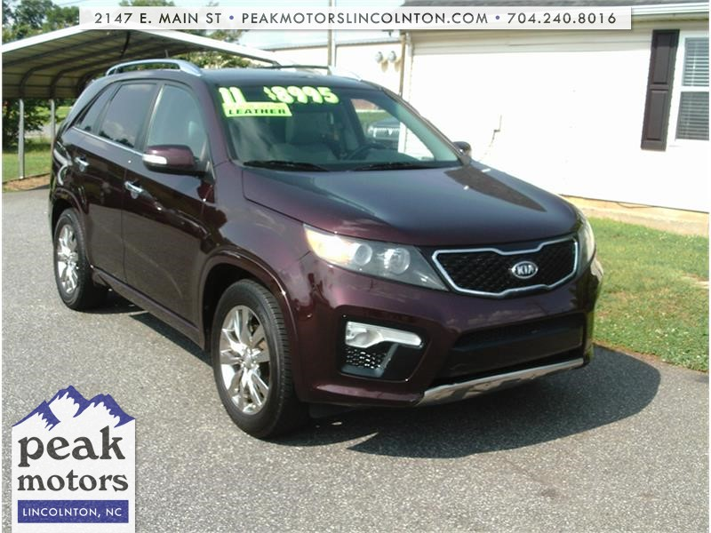 2011 Kia Sorento SX 2WD for sale by dealer