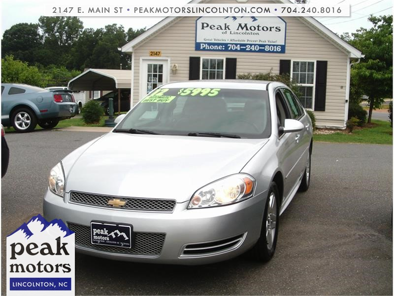 2012 Chevrolet Impala LT  for sale by dealer