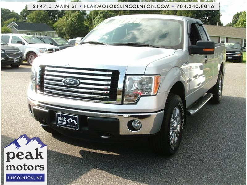 2012 Ford F-150 Lariat XLT SuperCab 4WD for sale by dealer