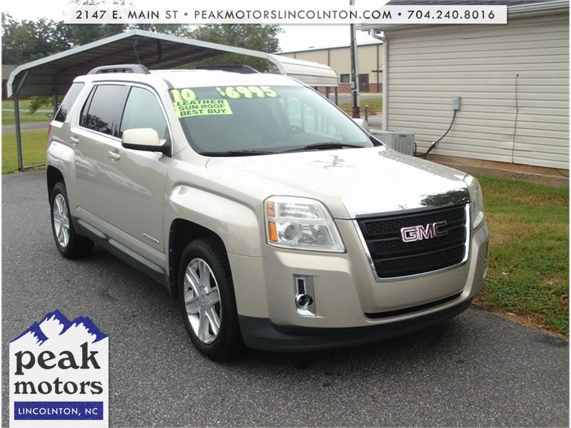 2010 GMC Terrain SLT1 FWD for sale by dealer