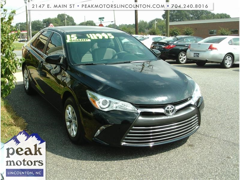 2015 Toyota Camry LE for sale by dealer