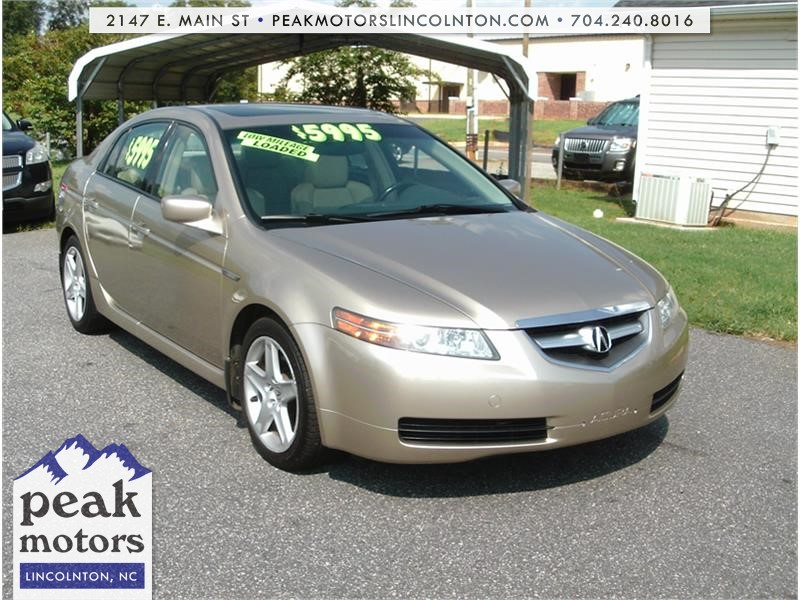 2005 Acura TL with Navigation System Lincolnton NC