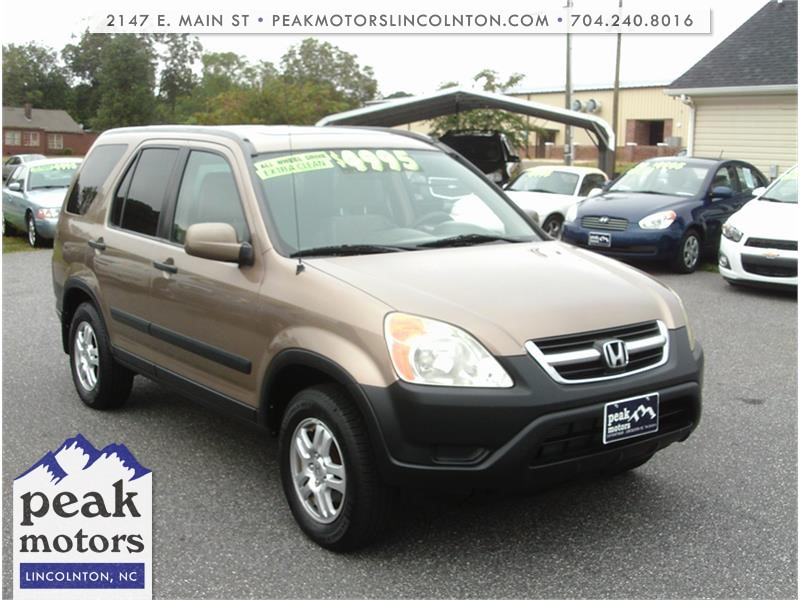 2004 Honda CR-V EX 4WD  for sale by dealer