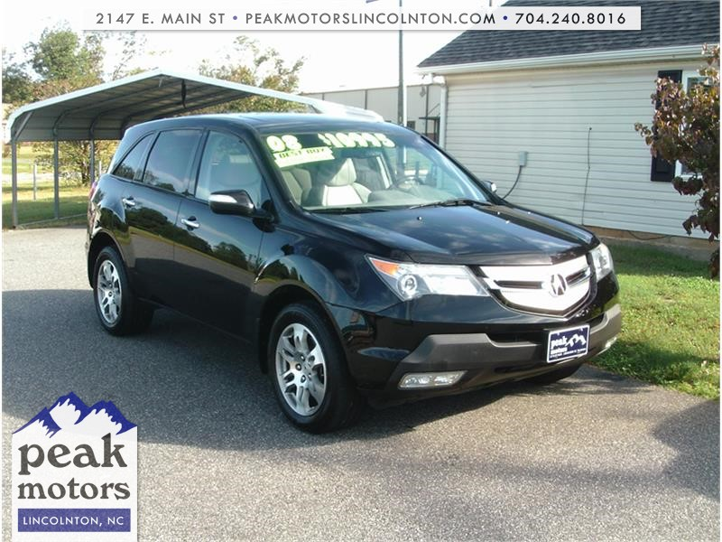 2008 Acura MDX Tech Package with Power Tailgate for sale by dealer