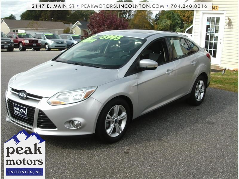 2012 Ford Focus SE Sedan Lincolnton NC